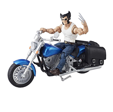 "Marvel Legends – Ultimate Action Figures Series – Wolverine 6"" Figure with Motorcycle"