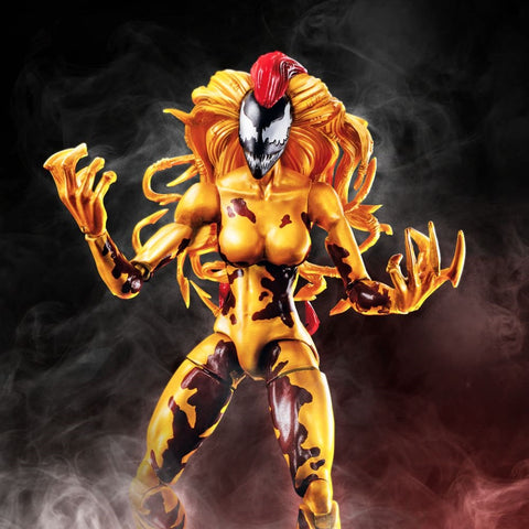 "Marvel Legends Venom – Monster Venom Series – Scream 6"" Figure (Monster Venom BaF)"