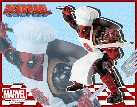 Marvel NOW! – Deadpool – ARTFX+ Statue (Variant Cooking Version)