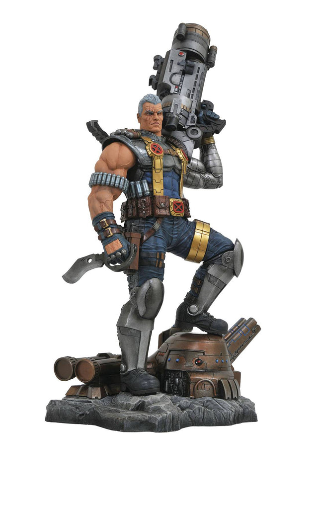 Marvel Premier Collection – Cable Full-Size Connecting* Statue