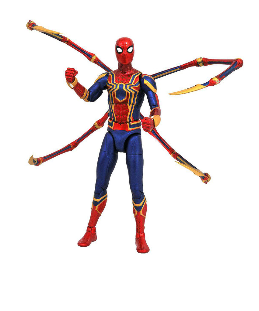 "Marvel Select – Avengers; Infinity War (Film) – Spider-Man; the Iron Spider 7"" Figure"