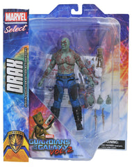 "Marvel Select – Guardians of the Galaxy Vol. 2 (Film) – Drax 7"" Figure & Baby Groot figure 2-Pack"