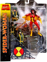 "Marvel Select – Spider-Woman 6"" Figure with Base"