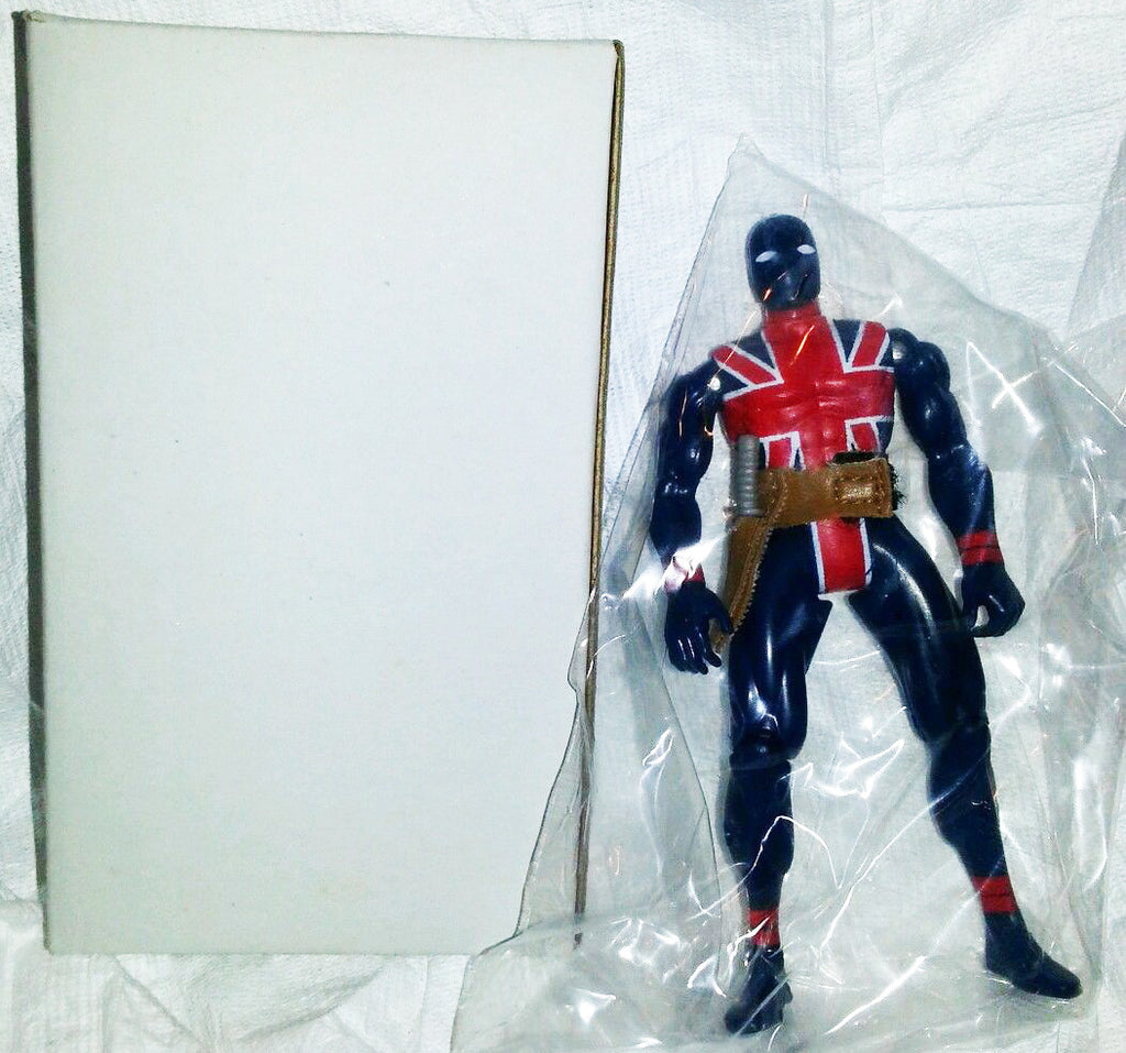 "Marvel Superheroes Series – ToyFare Mail-Away Exclusive Edition – Union Jack 5"" Boxed Figure (Previews Exclusive)"