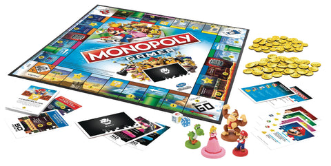 Monopoly Board Game – Nintendo Gamer Edition
