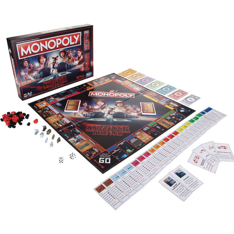 Monopoly Board Game – Stranger Things (TV) Collector's Edition