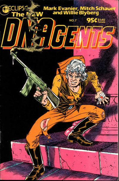 New DNAgents (1985 series) #07-12 + 3-D Special [SET] — Volume 02: The Cold Light of Day