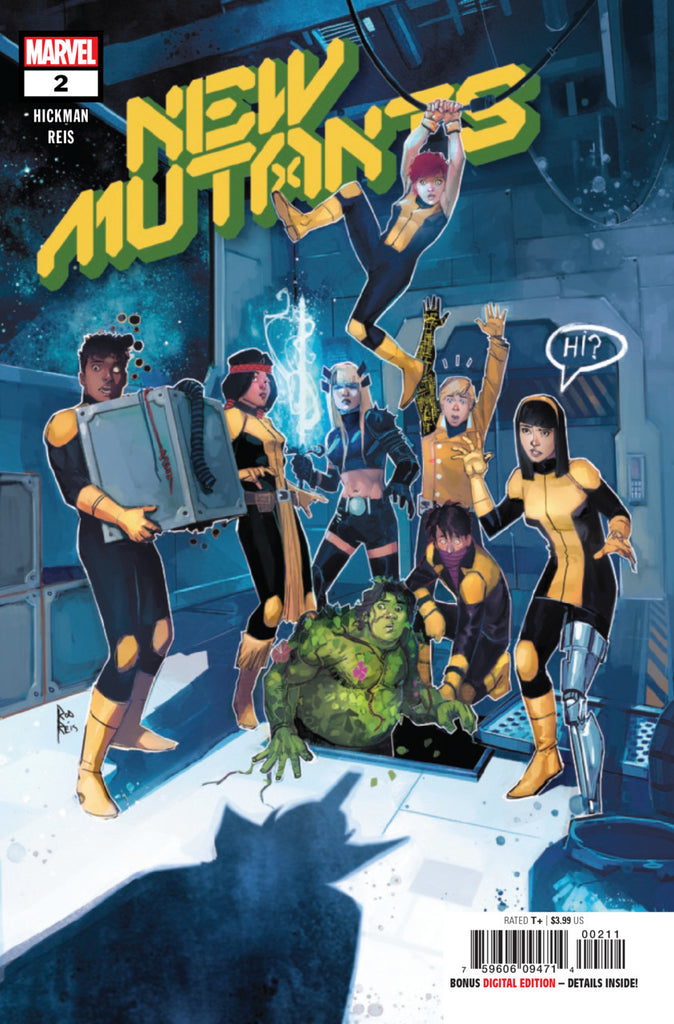 New Mutants (2019 series) #2 (Regular Cover - Rod Reis)