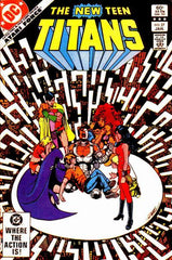 New Teen Titans (1980 series) #26-36 + Annual #2 [SET] — Volume 04 (B): Terra Incognito