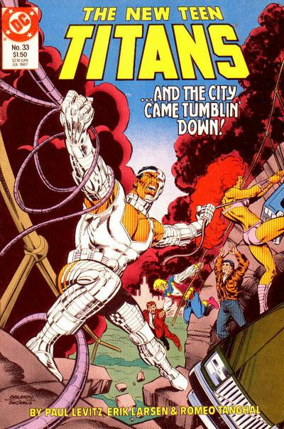 New Teen Titans (1984 series) #33-37 [SET] — Volume 057: Beauty and The Wildebeest