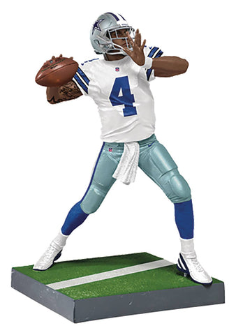 "NFL – Madden 18 Ultimate Team  – Series 2 – Dallas Cowboys: Dak Prescott 7"" Figure"