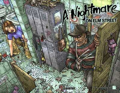 A Nightmare On Elm Street Special (2005 One-Shot) #1 (Variant Wrap Cover - Juan Jose Ryp)