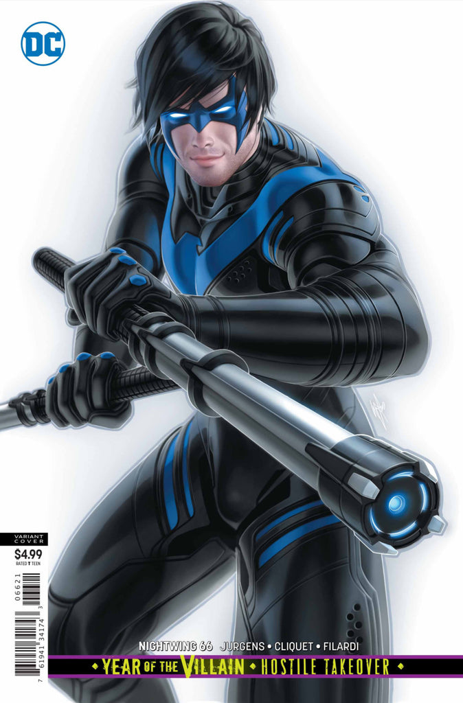 "Nightwing (2016 Series) #66 (Variant ""Year of the Villian"" Card Stock Cover - 	Warren Louw)"
