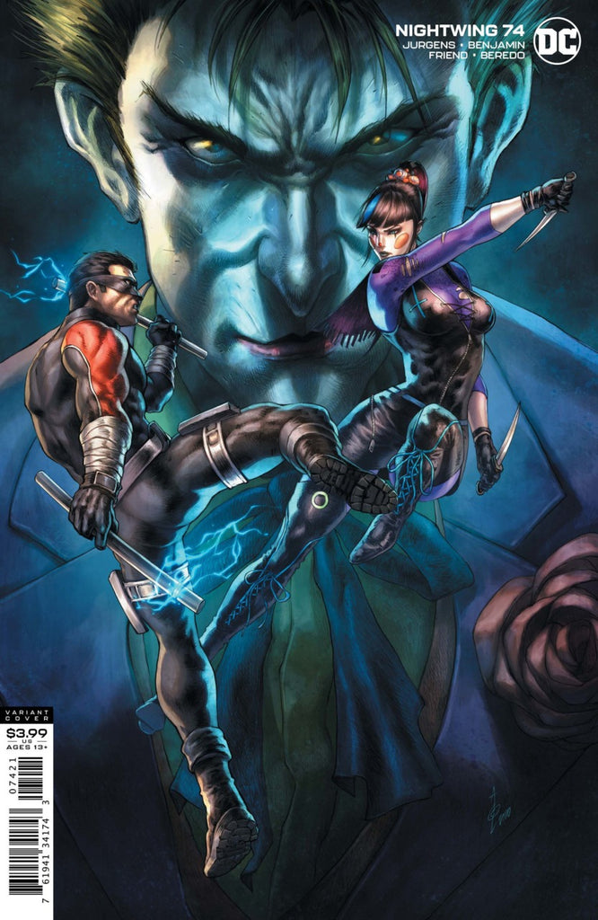 Nightwing (2016 Series) #74 (Variant Cover - Alan Quah)