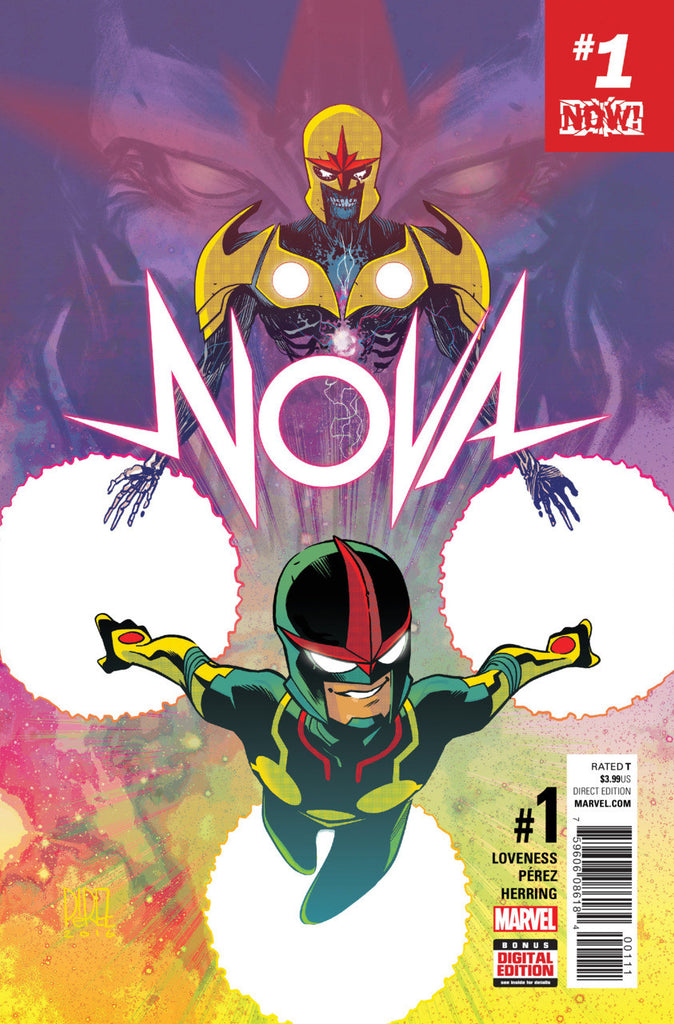 Nova (2016 Series) #1 (Regular Cover - Ramón Pérez)