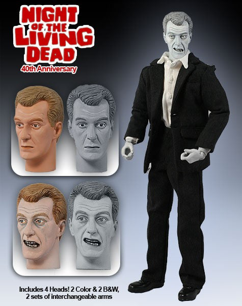 "Night of the Living Dead (Film) – Bill Heinzman as the Cemetary Zombie 12"" Collector's Figure"
