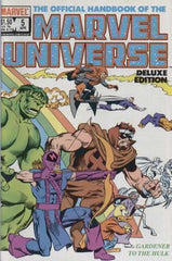 Official Handbook of The Marvel Universe (1985 mini-series) #1-20 [SET] — The Deluxe Edition