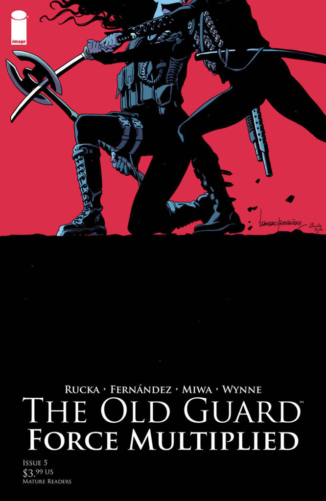 Old Guard; Force Multiplied (2019 mini-series) #5 (of 5)