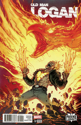 "Old Man Logan (2016 series) #26 (Variant ""Phoenix"" Cover - Chris Burnham)"