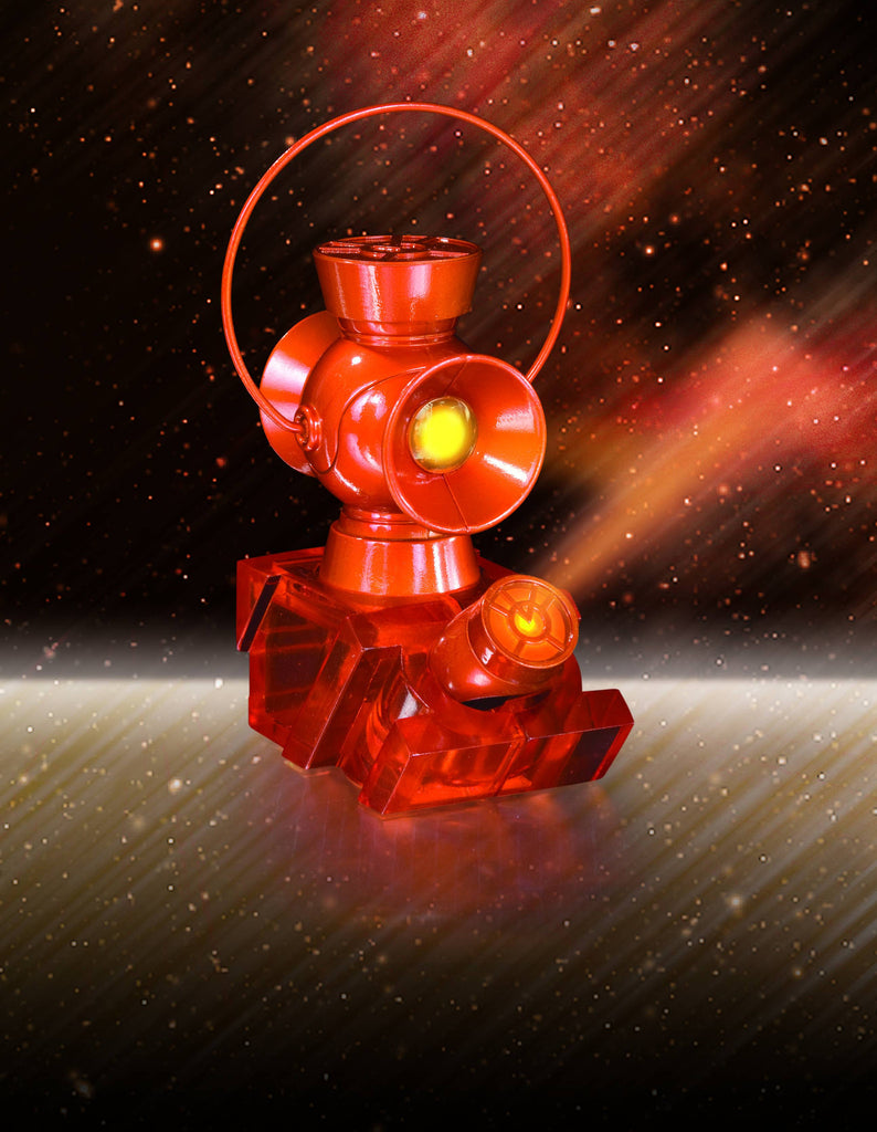 Orange Lantern 1:4 Scale Power Battery & Ring Prop