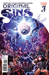 Original Sins (2014 mini-series) #1-5 [SET] — What Did They See?