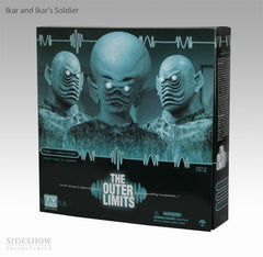 "Outer Limits (TV) – ""Keeper of the Purple Twilight"" – Ikar & Ikar's Soldier 12"" Figures Box Set"