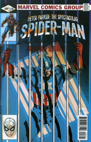 "Peter Parker: The Spectacular Spider-Man (2017 Series) #297 (Variant ""3-D"" Lenticular Homage Cover - Paulo Siqueira)"