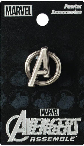 Pewter Lapel Pin – Avengers Logo