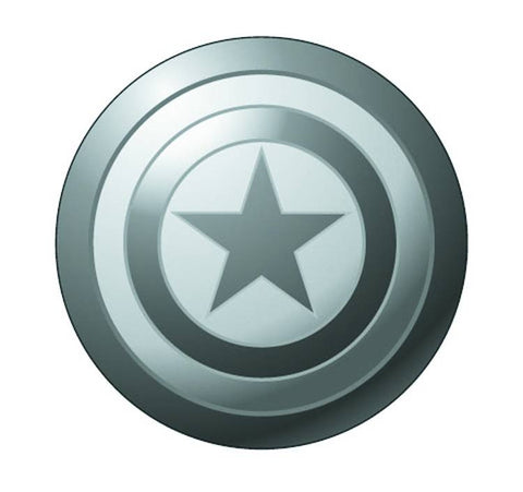 Pewter Lapel Pin – Captain America's Shield