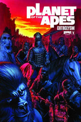 "Planet of The Apes (2012 series) #01-4 [SET] — Volume 06: Cataclysm Book One (All Regular ""A"" Covers)"