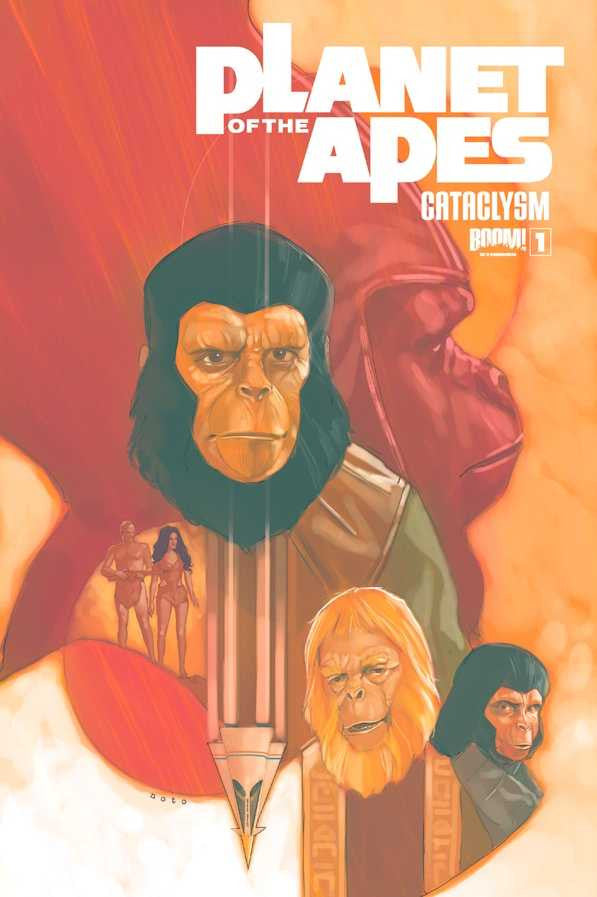 Planet of The Apes (2012 series) #01-4 [SET] — Volume 06: Cataclysm Book One (D)