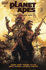 Planet of the Apes (2018 mini-series) #1 (one-shots) [SET] — When Worlds Collide (All Regular Covers)