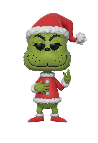 "POP! Books – How the Grinch Stole Christmas – The Grinch (Regular Version) 3.75"" Vinyl Figure"