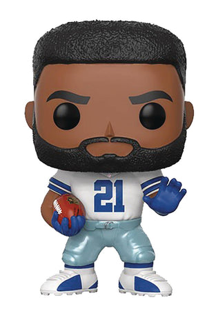 "POP! NFL Football Legends – Dallas Cowboys – Runningback Ezekiel Elliott (Home Jersey) 3.75"" Vinyl Figure"