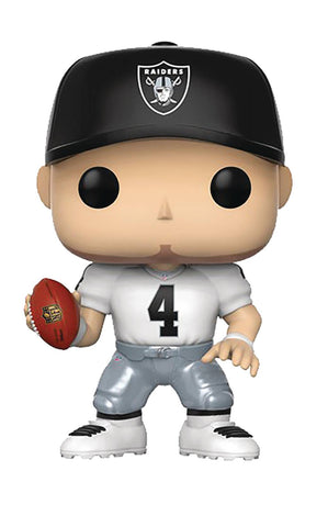 "POP! NFL Football Legends – Oakland Raiders – Quarterback Derek Carr (Away Jersey) 3.75"" Vinyl Figure"