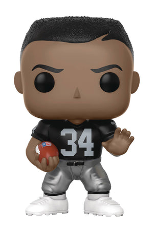 "POP! NFL Football Legends – Los Angeles Raiders – Runningback Bo Jackson (Home Jersey) 3.75"" Vinyl Figure"