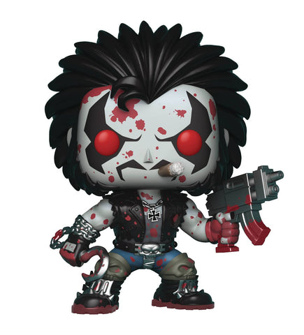 "POP! Heroes – Lobo (Variant ""Bloody"") 3.75"" Vinyl Figure (Previews Exclusive)"