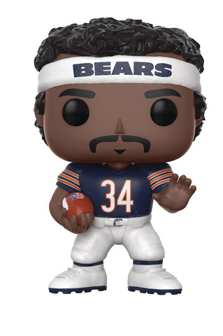 "POP! NFL Football Legends – Chicago Bears – Runningback Walter Payton (Home Jersey) 3.75"" Vinyl Figure"