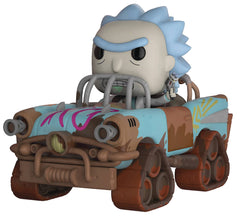 POP! Rides – Rick and Morty (TV Series) – Mad Max Vehicle & Mad Max Rick Vinyl Figure Set