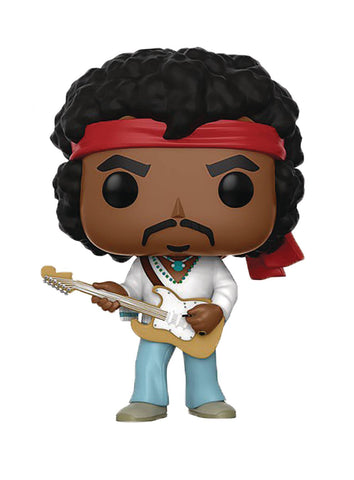 "POP! Rocks – Jimi Hendrix – ""Woodstock Version"" 3.75"" Vinyl Bobble Figure"