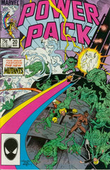 Power Pack (1984 series) #18 (A Multi-Title Crossover) [SET] — Volume 03 (A): This Kursed Earth!