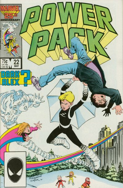 Power Pack (1984 series) #22-26 [SET] — Volume 03 (B): Power Trip