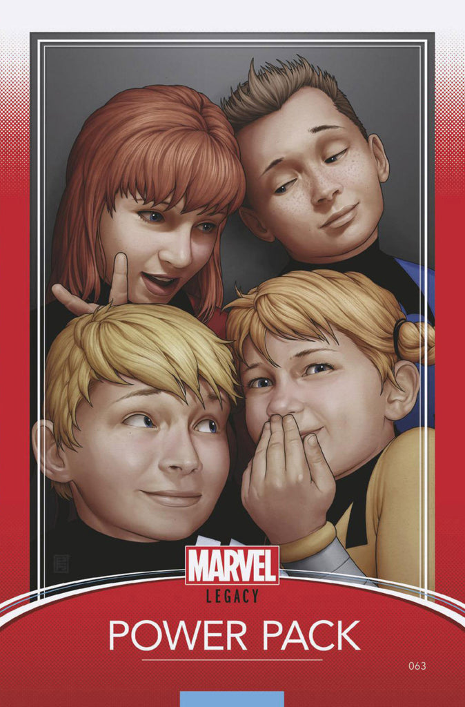 "Power Pack (2017 One-Shot) #63 (Variant ""Trading Card"" Cover - John Tyler Christopher)"