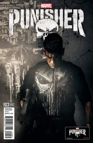 "Punisher (2016 series) #218 (Variant ""TV"" Cover - Photo)"