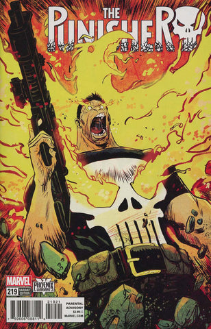 "Punisher (2016 series) #219 (Variant ""Phoenix"" Cover - Sanford Greene)"