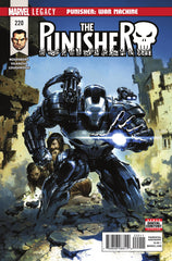 Punisher (2016 series) #218-223 [SET] — Volume 04: The Punisher; War Machine
