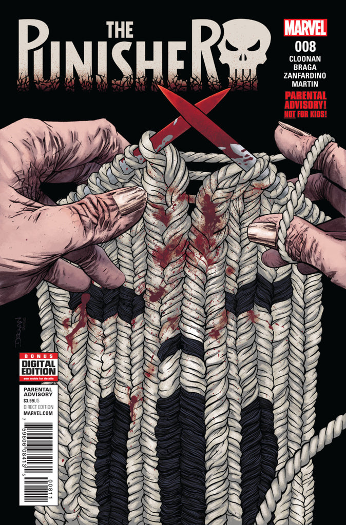 Punisher (2016 series) #8 (Regular Cover - Declan Shalvey)