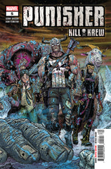 Punisher (2019 mini-series) #1-5 [SET] — The Punisher Kill Krew (All Regular Covers)