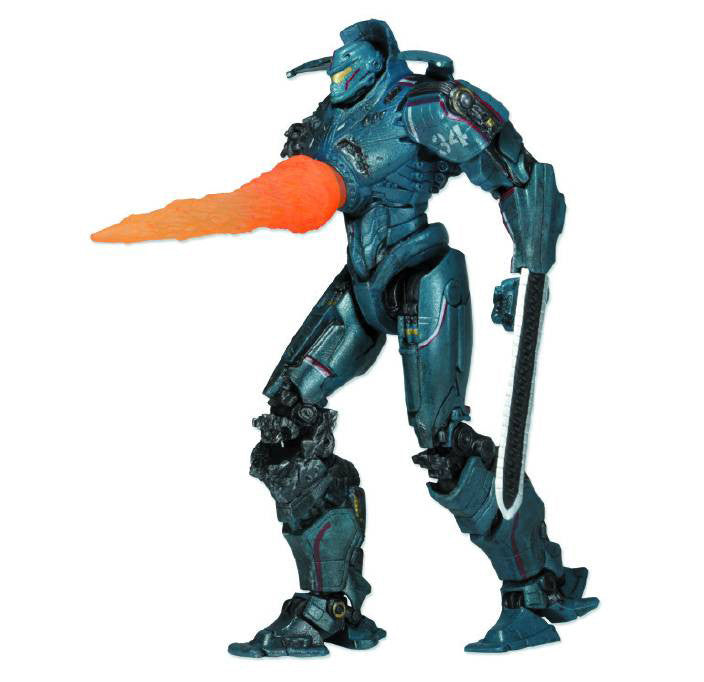 "Pacific Rim (Film) – Series 6 – Jaeger Gipsy Danger (Reactor Blast Version) 7"" Figure"