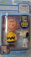 "Peanuts – ""A Charlie Brown Christmas"" Series – Charlie Brown & Snoopy Figure 2-Pack (SDCC 2003 Exclusive)"